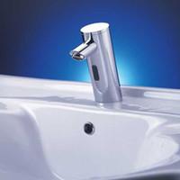 Wholesale automatic shut off faucet digital faucet automatic basin faucet brass basin faucet electronic faucet digital sensor faucet deck mount faucet