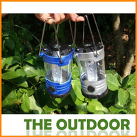 Wholesale Outdoor camping lantern LED light small mini camping lamp with a compass