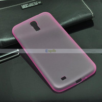 Silicone For Samsung Accept Wholesale - -thin Frosted Case Skin Protective Cover Shell for Samsung Galaxy Mega 6.3 I9200 Color Perfect Fit 100pcs Lot