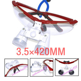 Wholesale Dental Supply Dentist Dental Surgical Medical Binocular Loupes X mm Optical Glass Loupe Protective Case