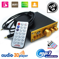Wholesale New in W V W Remote For MP3 Player Home EQ Control Hi fi Stereo Digital Audio Power Amp Amplifier