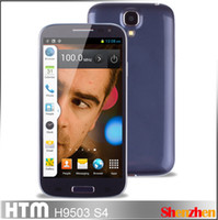 Wholesale HTM H9503 S4 SIM with Air Gesture MTK6572 Dual Core android phone inch IPS Screen GHz G GPS Smartphone