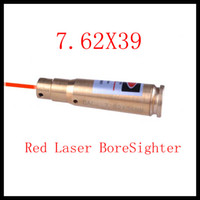 Wholesale Tactical CAL X39 Caliber Cartridge Red Laser Bore Sighter BoreSighter For Pistol Gun Rifle