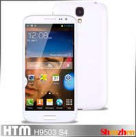 Wholesale HTM H9503 S4 with Air Gesture MTK6572 Dual Core android phone Tri SIM card inch IPS Screen GHz G GPS Smartphone