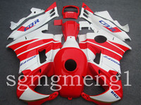 Comression Mold For Honda CBR600 F2 ABS Fairings Fit For Honda red white CBR600RRF2 91 92 93 94 CBR600RR F2 91-94 1991 1992 1993 1994 CBR 600 RR F2 1991-1994 Body Kit Plastic