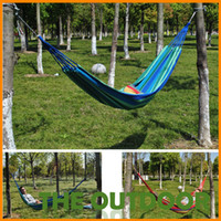 canvas 680g 200*80cm 200cm*80cm Camping bed tourism hunting Leisure hammock outdoor swing canvas String hammock