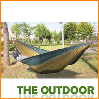 canvas 680g 270*132cm 270*132cm Camping bed tourism hunting Leisure hammock double people outdoor swing canvas String hammock,DCh-01