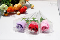 Wholesale Wedding Flowers Wedding Favors Christams Gift Valentine s gift Cake Towel Roses Cotton New