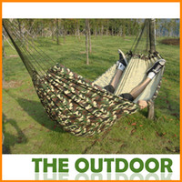 canvas 1.1kg 200*150cm Double camouflage hammock 100*200cmCamping bed tourism hunting Leisure hammock double people outdoor swing canvas String hammock HW0151