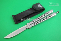 Wholesale Benchmade Butterfly BM42C pocket HRC C blade Fine edge camping hunting knives with Nylon sheath new in Original box