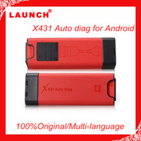 Wholesale X431 Diagnostic Tool Auto Diag Launch Idiag Car Scan Scanner OBD Equipment For iOS Android System X
