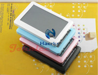 Wholesale 8GB GB inch HD Touch Screen MP3 MP4 MP5 Player With Ebook Reader AV Out FM