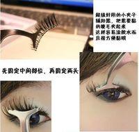 Wholesale Beauty Tool Multifunction False Eyelashes Eyebrow Stainless Auxiliary Tweezers Clip