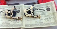 Wholesale 2pcs best quality micky sharpz brass tattoo machine with the certificate and box