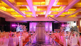 Wholesale Romantic Wedding Bar Party Decoration M wide mirror carpet Wedding Carpet Runner M