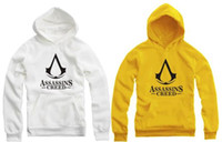 Wholesale For cm height Hoodie kids fleece hoodie Assassins creed printed Assassin s creed hoodies clothing colors