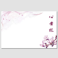 Wholesale Chinese style ink painting soft whiteboard bulletin board cork