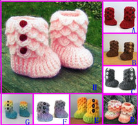 Unisex boots baby fur - 35 off Cute fringed high top boots Side buttons warm boots CM crochet shoes cheap baby wear kid shoes shoes online pair
