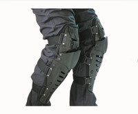 Wholesale new FOX motorcycle protective gear super three movable joint kneepads sets of black elbow pads Leggings