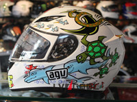 Wholesale Limited edition color of the crown of the king of the AGV motorcycle helmets K3 zoo the store spot