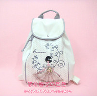 Wholesale Female backpack preppy style bling princess