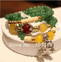 Wholesale fashion national wind crystal bracelet jade agate jewelry for women