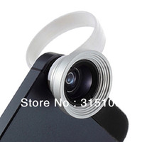 Cheap Free Shipping Clip Wide Macro Lens Detachable Lens Universal For Digital Camera Mobile Phone 10pcs lot
