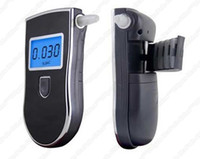 Wholesale A2 Professional Digital Breath LCD Alcohol Tester Breathalyzer for Police Portable Alcohol Tester