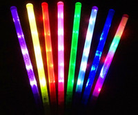 Wholesale Fashion Party LED Light Sticks LED Flashing light up wand novelty toy glow sticks kids toys Free EMS Shipping