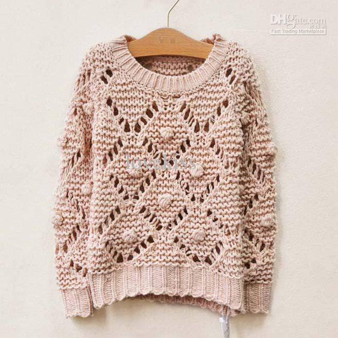 Вязаные пуловеры для девушек