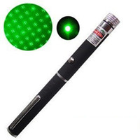 Wholesale 5mW nm Star Green Red Blue Violet light Beam Laser Pointer Pen with Kaleidoscope Cap efit SOS Mounting Hunting teaching Meeting Xmas Gift