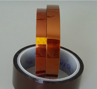 Wholesale 10PCS x mm M mm High Temperature Resistant Sticky Tape Sticky for Chip BGA PCB SMT Solder Masking Insulate Tawny D