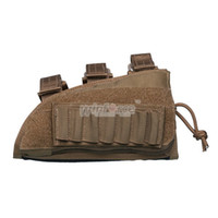 Wholesale WINFORCE tactical gear WA Tactical Stock Butt Pouch CORDURA QUALITY GUARANTEED MILITARY AND OUTDOOR AMMO POUCH