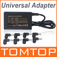 Universal    65W 110~240V Universal AC DC Charger Power Adapter 8 Tips For Laptop Notebook EU Plug C1722