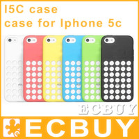 iphone 5c case - silicone rubber case for iPhone C SLIM SILICONE SOFT CASE Circle Dots Case Cover For iphone C Apple silicone case for I5
