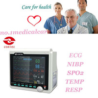 Wholesale ICU Patient Monitor CONTEC Brand New with ECG NIBP SPO2 PPR Temp Resp CMS6000B
