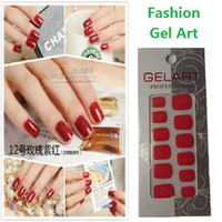 Wholesale Melodi candy solid color series finger sticker nail polish oil film eco friendly maternity pure red white black mixed