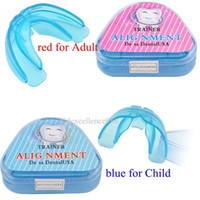 Wholesale Quality Guaranteed Tooth Orthodontic Appliance Trainer Alignment Braces Mouthpieces