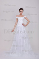 Wholesale Real Image Chinese Designer Sexy Wedding Dress Beach Bridal Gown Portrait Lace Up