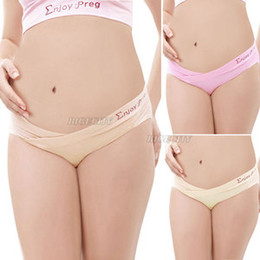 Wholesale New Maternity Pregnancy Panties Low Rise Waist Brief Underwear Knickers