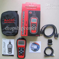 Wholesale AUTEL MaxiDiag PRO MD801 Scan Car Tool Code Scanner Reader in JP701 EU702 US703 FR704