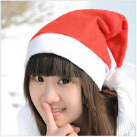 Wholesale 2013 Christmas gift Christmas hats Red Hat Santa hat Christmas items children size and adult size hot selling