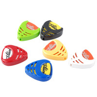 Wholesale Alice A010B Guitar Pick Holder Guitar Plectrum case box For Electric Acoustic Folk Guitar