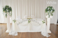 for wedding curtain voile - white Meters Meters Long curtain Organza voile sheer fabric for wedding backdrop decorations