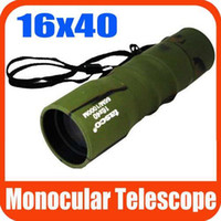 Wholesale Outdoor Mini x40 Adjustable Monocular Focus Telescope For Camping Sports