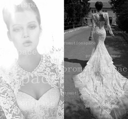 Wedding dresses chapel train backless white fall chic bridal gowns