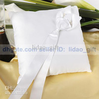 Wholesale Calla Lily Unique Wedding Party Stuff Supply Accessory Special Bridal Ring Bearer Pillow HOT SALE