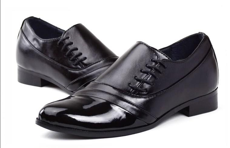 new style s wedding shoes mens black and white