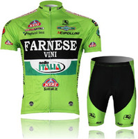 Wholesale DHL farnese cycling jersey short suit Short sleeves Bicycle sets farnese Cycling Team Clothing