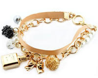 Wholesale Set Of Wrap Bracelet Charm Design with Perfume For Women New Hot item Fashion Jewelry